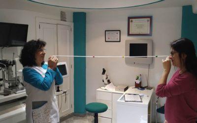 Entrenamiento visual y control de miopía